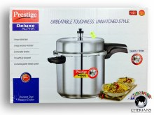 PRESTIGE DELUXE STAINLESS STEEL PRESSURE COOKER 10L