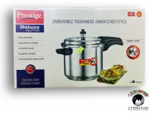 PRESTIGE DELUXE STAINLESS STEEL PRESSURE COOKER 5.5L