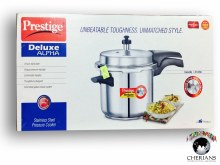 PRESTIGE DELUXE STAINLESS STEEL PRESSURE COOKER 3.5L