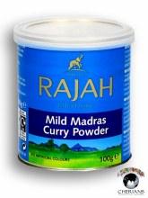 RAJAH MILD MADRAS CURRY POWDER 100G