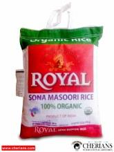 ROYAL SONA MASOORI RICE ORGANIC 20LB