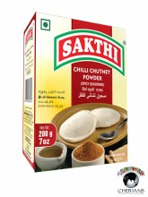 SAKTHI CHILLI CHUTNEY POWDER 7 OZ