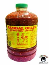 SAMBAL OELEK GROUND FRESH CHILI PASTE 8.5LB