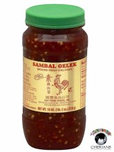 SAMBAL OELEK-GROUND FRESH CHILI PASTE 510G