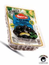 SERA BLACK OLIVES 400G