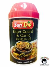 SUNDIP BITTER GOURD & GARLIC PICKLE IN OIL 1KG
