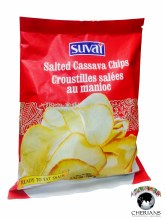 SUVAI SALTED CASSAVA CHIPS 100G