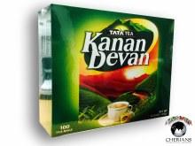 TATA TEA KANAN DEVAN 100 TEA BAGS/180G