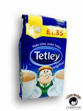 TETLEY 40 TEA BAGS