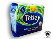 TETLEY 80 TEA BAGS/250G