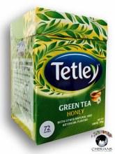 TETLEY GREEN TEA HONEY 108G