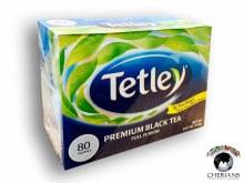 TETLEY PREMIUM BLACK TEA- 80 TEA BAGS/240G