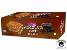 VINCO CHOCOLATE PUFF COOKIE 200G