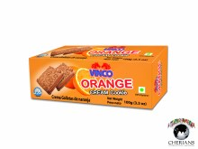 VINCO ORANGE CREAM COOKIE 100G