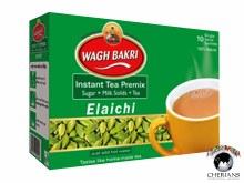 WAGH BAKRI ELAICHI TEA 10 TEA BAGS/140G
