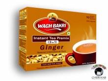 WAGH BAKRI INSTANT TEA PREMIX 3 IN 1 GINGER 260G