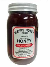 WEEKS HONEY FARM- WILDFLOWER 24 OZ