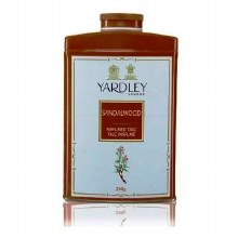 YARDLEY SANDALWOOD PERFUMED TALC POWDER 200G