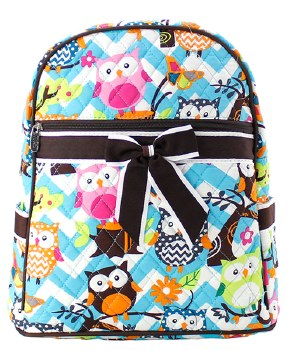 Chevron Owl Backpack
