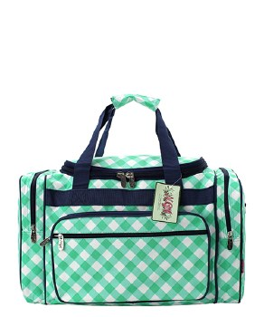 "20"" Plaid Duffel"