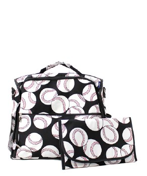 Baseball Diaper Backpack