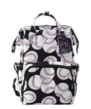 Baseball Diaper Backpack