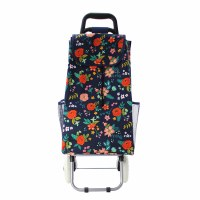 Floral Rolling Cart