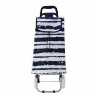 Stripe Rolling Cart
