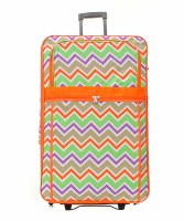 Chevron Luggage