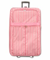 Striped Luggage