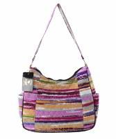 Stripe Handbag