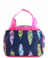 Feather Lunch Bag
