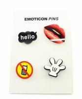 Emoticon Pin