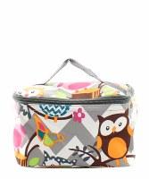 Chevron Owl Cosmetic