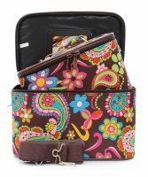 Paisley Train Case