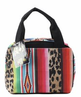 Leopard Serape Lunch Bag
