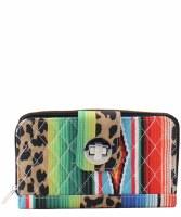 Leopard Serape Wallet