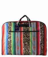 Leopard Serape Garment Bag
