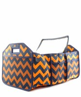 Chevron Trunk Organizer