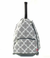 Geometric Tennis Racket Bag