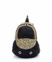 Leopard Pet Carrier Backpack