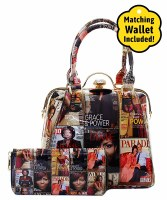 Fashion Magazine Handbag