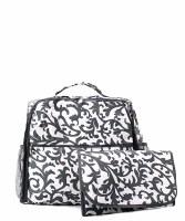 Damask Diaper Backpack
