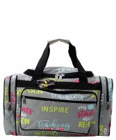 "Teacher 23"" Duffel"