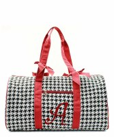 "Houndstooth ""A"" Duffel"