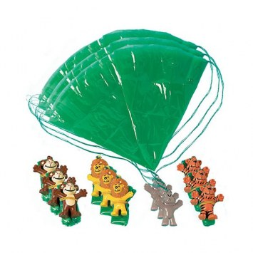Jungle Animal Paratroopers