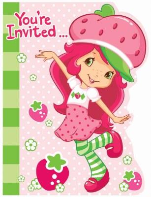 Strawberry Invites
