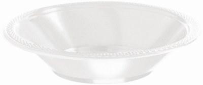 White Plastic Bowls