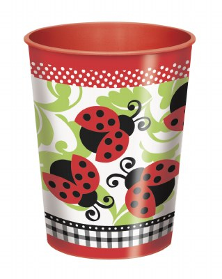 Ladybug 16oz Plastic Cup