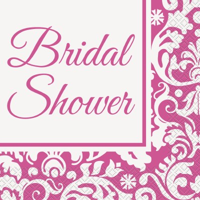 Bridal Damask Lunch Napkins